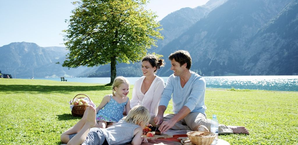 Picknick am Achensee