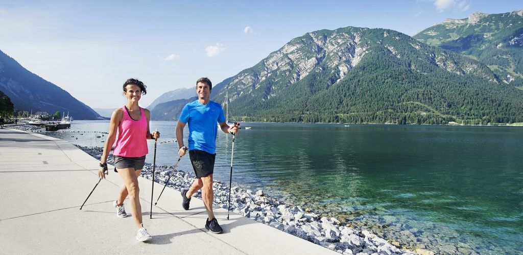 Nordic Walking am See
